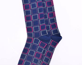 Stylish dress/casual socks for men sz US 7-12