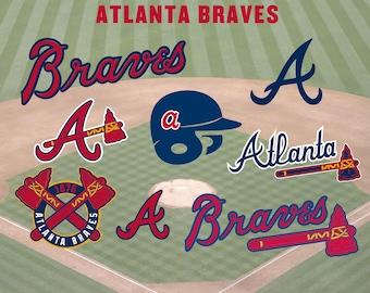 Atlanta Braves Baseball SVG, Atlanta Braves, Braves SVG, Braves