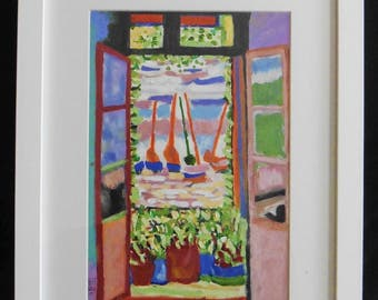 "Henri Matisse ""open window Collioure"" 1905 Reproduction"