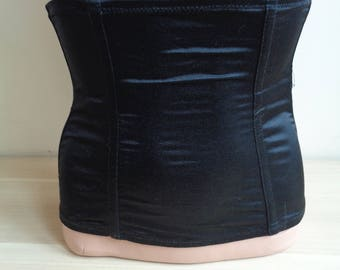 Black vintage corset, Vintage Lingerie