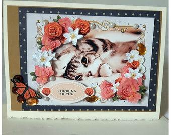 Pretty Kitten Card