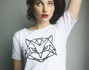 Geometrical owl Tshirt