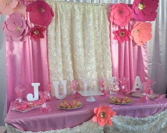 Candy Table Backdrop