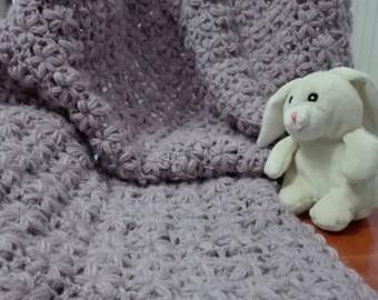 82 x 64 wool baby blanket