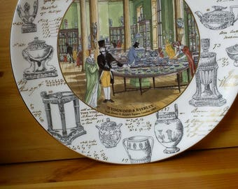 Wedgewood bone china plate London Showrooms