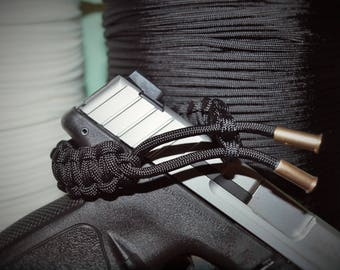 Adjustable 550 Bullet Bracelet