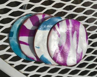 Marbled Clay Coaster