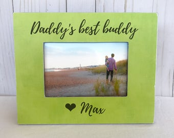 Father's Day Gift Personalized Picture Frame Dad Father GIFT Father Son Picture Frame Father's Day