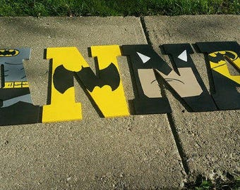 Batman letters
