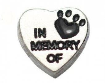 Floating Charm In Memory Of