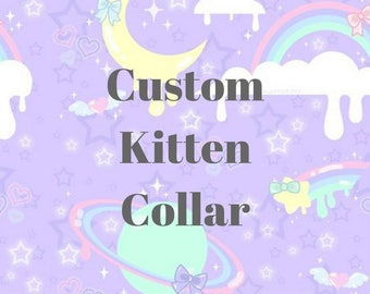 Custom Kitten Play Collar