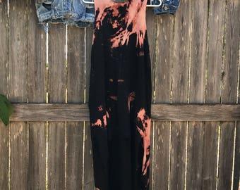 Dip Dye Hi-Low Dress