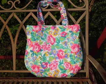 20% bag, handbag, shoulder bag, shopper, tote bag, roses,