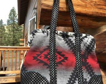 Overnight bag, Pendleton Wool