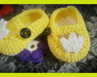 Little princess slippers / Pantoufles petite Princesse