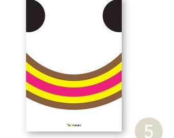 A6 Happy card