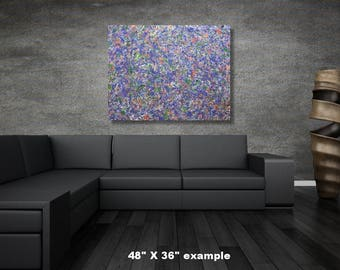 """24"""" x 48"""" large abstract painting"""