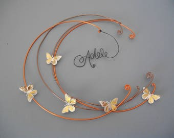 decorative wall name aluminum wire