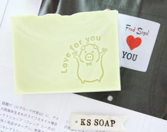 Love for you Acrylic Glass Soap Stamp