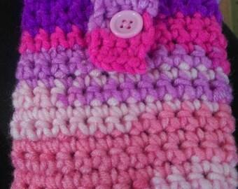 Crocheted phone sock