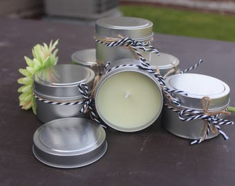 Asian Vanilla Sandalwood Soy Candle 4oz