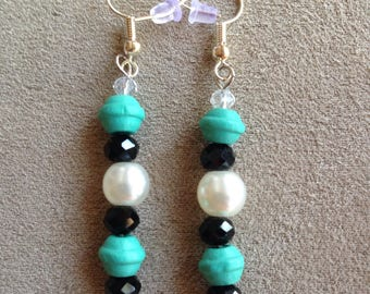 Turquoise Black and White Colors