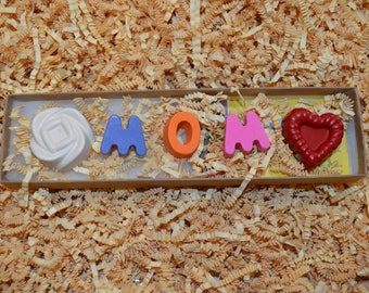 Mom Custom Crayon Gift Box
