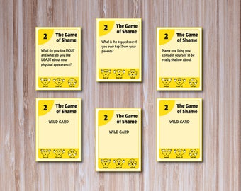 YELLOW DECK: The Game of Shame