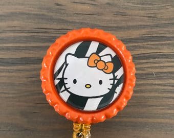 Hello Kitty Inspired Badge Reel