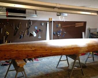 FisherCraft | Handmade Cedar Strip Ribless Canoe