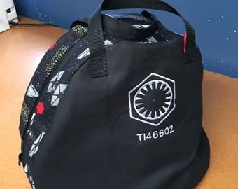 First Order Tie Pilot Helmet Bag