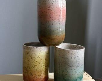 Gradient Ceramic Tumbler