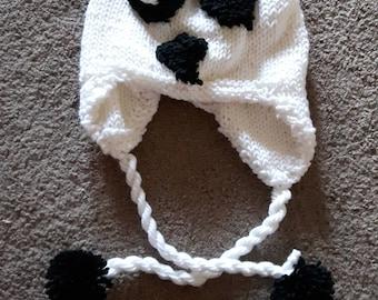 Panda Hat (adult size)