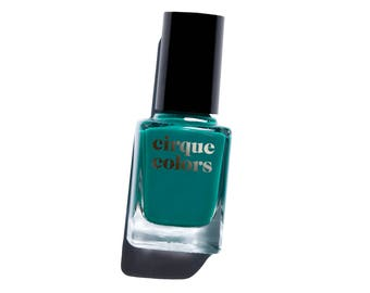Cirque Colors Nail Lacquer, Teal Creme, Tavern on the Teal