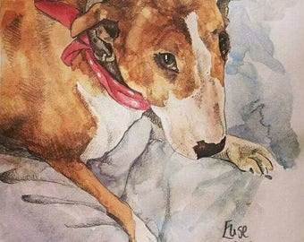 Dog portraits made to order