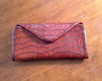 handmade womens clutch purse / wallet