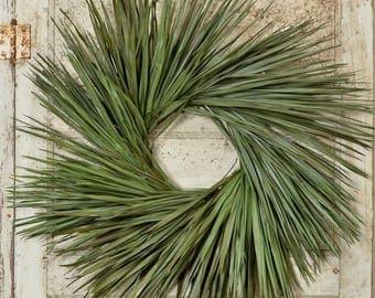 Palm Leaf Wreath | Palm Wreath | Beach House Wreath |