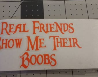 real friends decal
