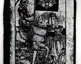 Death Tarot Card Patch