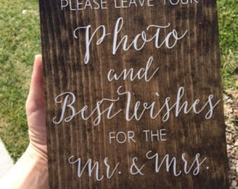 Personalised Wooden Wedding Welcome / Quote Sign