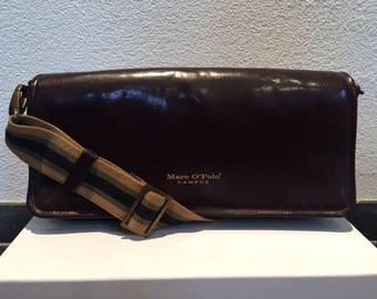 Marc O'Polo bag, purse, shoulder bag, vintage handbag, leather
