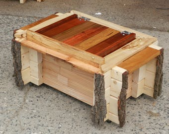 Chest, toy chest for circus wagon