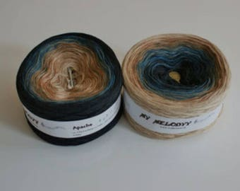 Wolltraum Apache Song 4 Ply Gradient Yarn