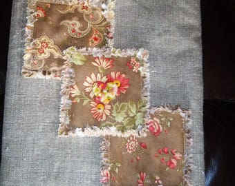 Handmade Tablet / Kindle Cover  Shabby Chic