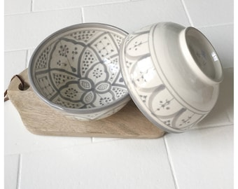2 Bowls / Dishes Moroccan 15 cm