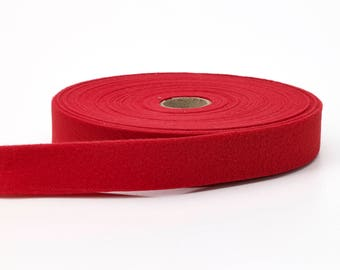 "Quilt binding, brushed, 1"" centerfold, 25 yds, Cherry"