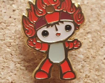 2008 Olympic Red Man Pin