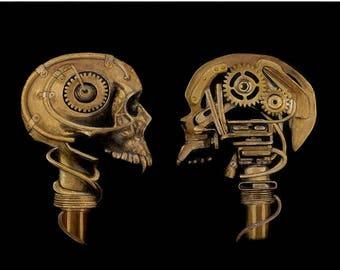 Artist Proof * Art Print * Giclée * Fantasy Art * Steampunk Art * Steampunk * Post Apocalyptic Art  * Gothic Art * Mechanical Skull *
