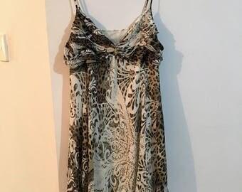Roberto Cavallo print summer dress size 16