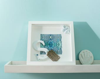 Hand-decorated baby frame
